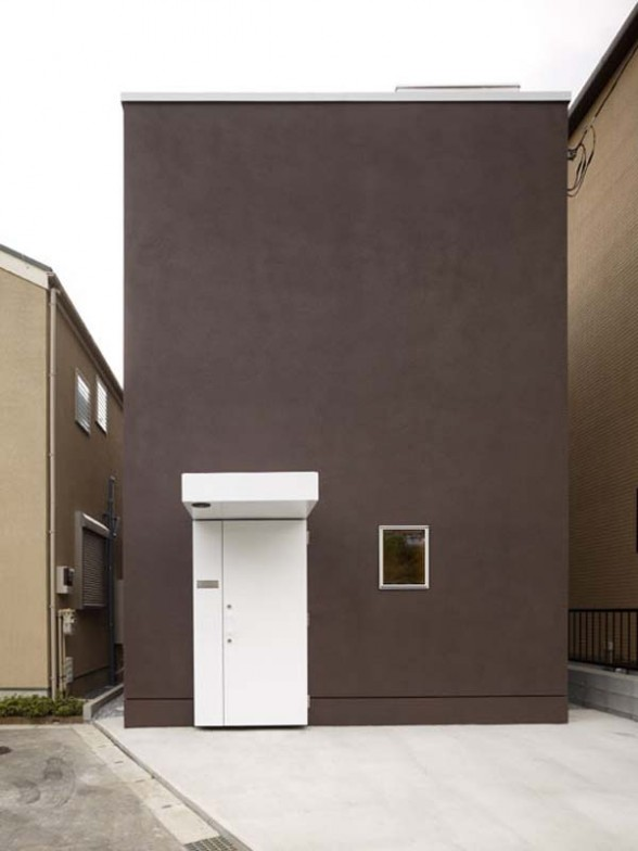 Windowless homes alatown for Minimalist japanese homes