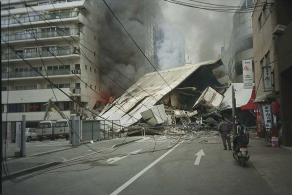 Kobe Earthquake Damage